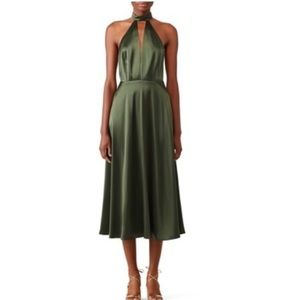 Jill Stuart Silk Halter Dress